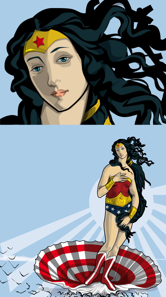 The Birth Of Wonder Woman - 1941