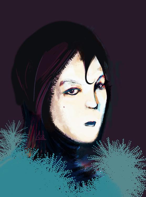 Portrait de travers #9