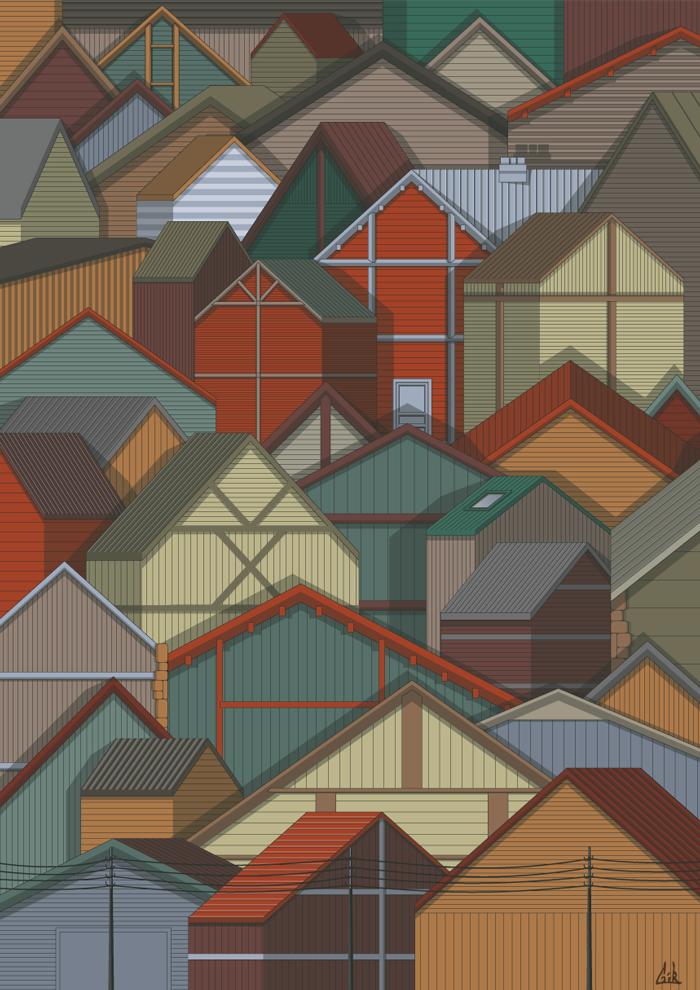 house-pattern